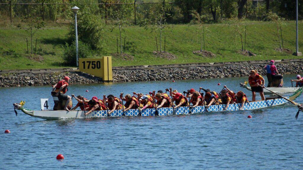 Image de l'équipe Vise-à-Vie lors d'une compétition